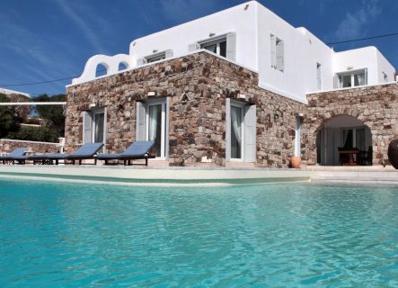Villa Seaview Mykonos - swimming pool