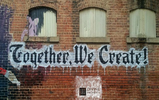 Together We Create by Divine Property