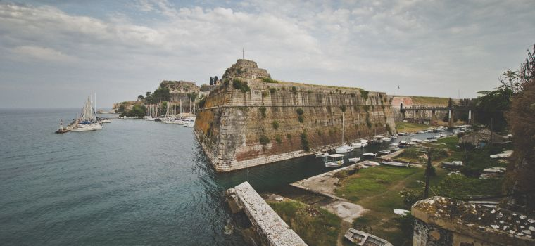 Corfu Fortress by Divine Property